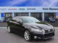 2015 LEXUS GS 350 IN OBSIDIAN!!  MAXWELL FOREVER