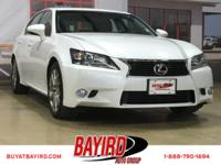 GS 350, Leather Seats, Navigation, Sunroof, Memory