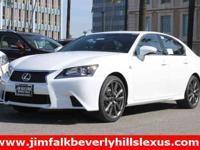 2015 Lexus GS 350, White, Leather-Trimmed Seats,Radio: