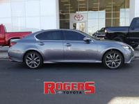 This 2015 Lexus GS 350 has a V6, 3.5L high output
