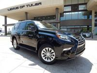 Clean CARFAX. Black 2015 Lexus GX 460 4WD 6-Speed