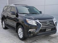 Options:  2015 Lexus Gx 460 Premium|Black Onyx/Black|V8