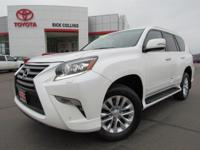 This 2015 Lexus GX 460 comes equipped with heated and