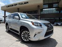 CARFAX One-Owner. Silver 2015 Lexus GX 460 Luxury 4WD