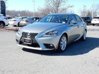 2015 Certified Lexus IS 250 AWD with Premium Package,