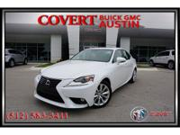 2015 Lexus IS 250 is a excellent *ONE OWNER*! This
