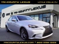 CARFAX 1-Owner, LOW MILES - 29,753! IS 250 trim. JUST
