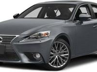 2015 Lexus IS 250, Deep Sea Mica/Flaxen, V6 2.5 L