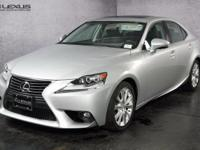 ***LEXUS CERITFIED*** and 2015 Lexus IS 250. Premium