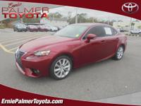 CARFAX One-Owner. Clean CARFAX. Red 2015 Lexus IS 250