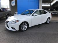 Check out this gently-used 2015 Lexus IS 250 we