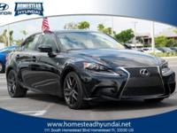 This 2015 Lexus IS 250 4dr Sport Sdn RWD is proudly