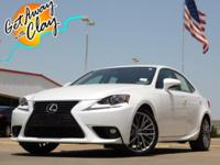 2015 Lexus IS Ultra White 6-Speed Automatic Electronic