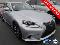 2015 Lexus IS 250 F SPORT Silver Lining Metallic