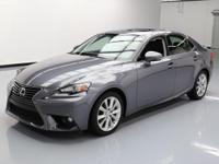 2015 Lexus IS with 2.5L V6 Engine,Automatic