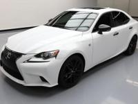2015 Lexus IS with F-Sport Package,2.5L V6