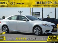 2015 Lexus IS 250 CARFAX One-Owner. Concerned about