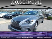 Outstanding design defines the 2015 L/Certified Lexus