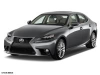 2015 Lexus IS 250 with Leatherette Seats, Alloy Wheels,