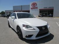 Recent Arrival! 2015 Lexus IS 250 2.5L V6 DOHC 24V