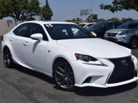 CARFAX One-Owner. Clean CARFAX. Ultra White 2015 Lexus