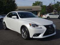 Options:  2015 Lexus Is 250|Starfire Pearl/Black|V6 2.5