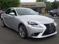 Options:  2015 Lexus Is 250 Luxury Pkge|Silver Lining