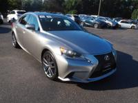L/CERTIFIED PRE-OWNED, CARFAX 1 OWNER!!!  F-SPORT