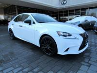 CARFAX One-Owner. Clean CARFAX. White 2015 Lexus IS 250