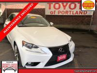 **THIS VEHICLE IS CERTIFIED ** This 2015 Lexus IS 250