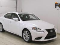 This outstanding example of a 2015 Lexus IS 250 Crafted