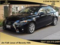 LOW MILES-ONE OWNER!!  This IS250 was leased new and