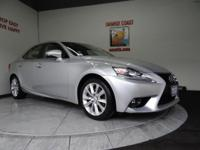 Options:  2015 Lexus Is 250 4Dr Sdn|Silver Lining/|V6