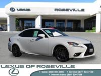 Lexus Certified, 2.5L V6 DOHC 24V VVT i, 6 Speed