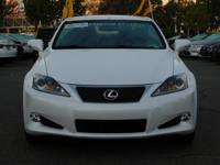 Options:  2015 Lexus Is 250C|White/Black|V6 2.5 L