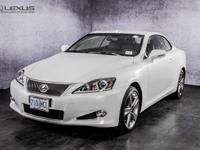 2015 Lexus IS 250 C. Black Leather. Come to the