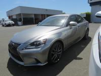 DRIVE FOREVER!! THIS LEXUS IS 350 F-SPORT COMES WITH A