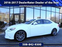 2015 Lexus IS 350 AWD Sedan... Ultra White onRioja Red