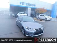 Our 2015 Lexus IS 350 AWD Sedan shown in Gray exudes