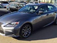2015 Lexus IS 350 F Sport. AWD. Boosts the oomph