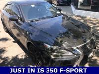 ***ACCIDENT FREE CAR FAX***. F-Sport Package (Aluminum