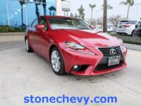 CARFAX One-Owner. Clean CARFAX. 2015 Lexus IS 250