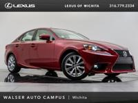 2015 Lexus IS 250 located at Lexus of Wichita. Original