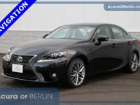 2015 Lexus IS 250 NAV Obsidian New Price! CARFAX