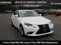 Lexus L/Certified!! One-Owner. Clean CARFAX. Starfire
