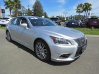 DRIVE FOREVER!! THIS LEXUS LS 460 COMES WITH A LIFETIME