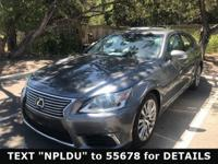 Excellent Condition, L/ Certified, CARFAX 1-Owner,