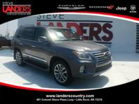 CARFAX One-Owner. Clean CARFAX. Gray 2015 Lexus LX 570