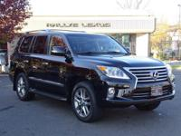 Options:  2015 Lexus Lx 570|Black Onyx/Black|V8 5.7 L