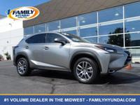 Come see this 2015 Lexus NX 200t 4DR FWD. Its Automatic